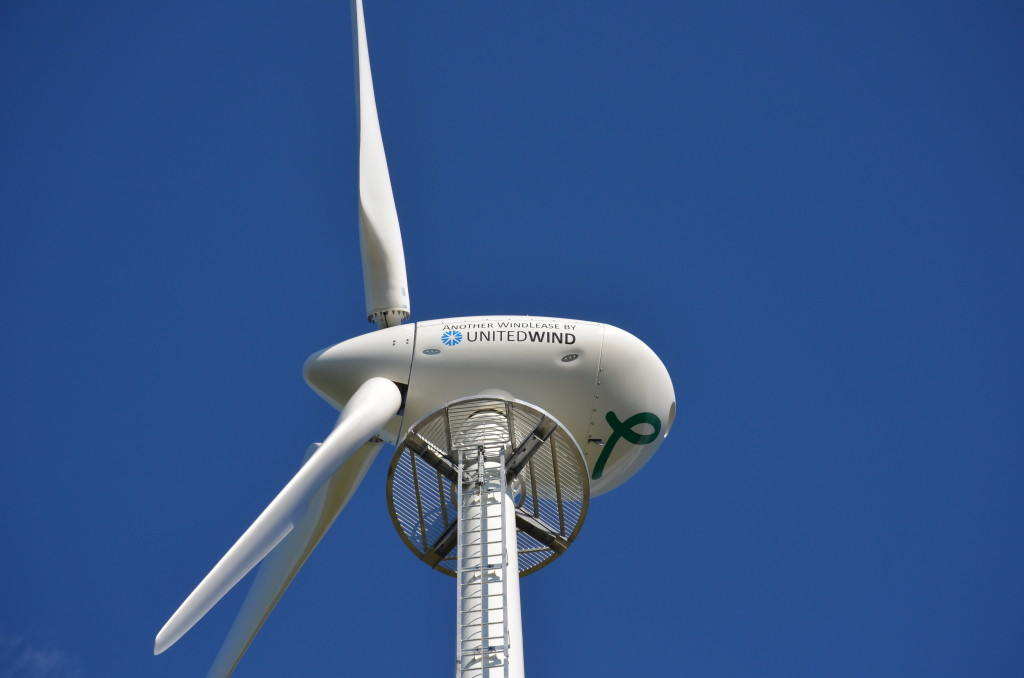Wind turbine from United Wind. (Photo: United Wind)