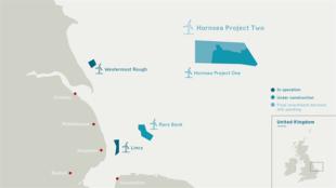 Hornsea 2 Map